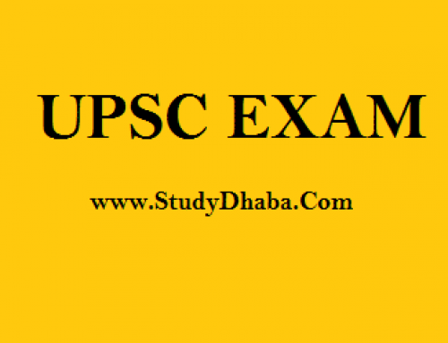 UPSC Main 2018 Exam Syllabus General Studies Paper 1 and 2