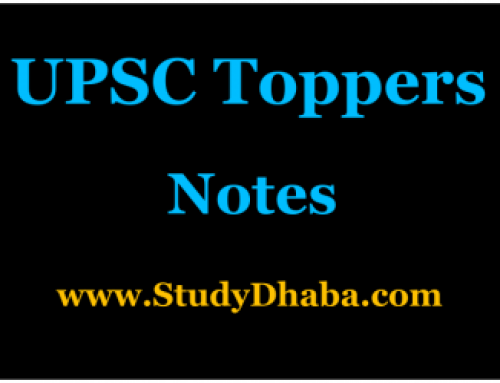 UPSC Topper Shreyans Kumat Complete Notes PDF Download
