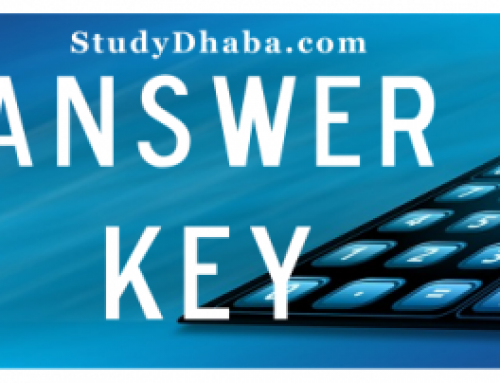 Shankar IAS Paper 2 Answer Key 2017 pdf All Sets A,B,C,D -IAS 2017