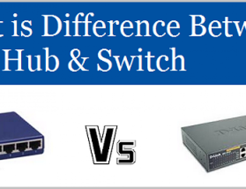 Hub vs Switch: Comparison And Difference Between Networking Devices