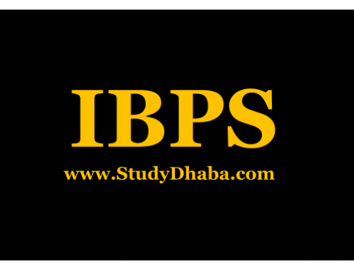 Ibps study material pdf Download – Notes IBPS Pdf Download free From Here