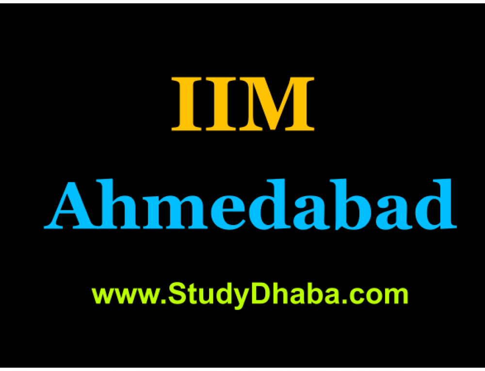 IIM Ahmedabad notifies admissions: Apply online for 2017-18