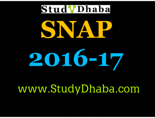 SNAP Admissions 2016: How to apply for SNAP 2016?