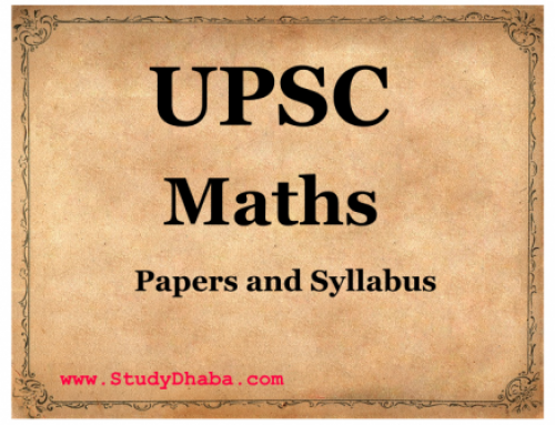 Maths optional Mains Papers Pdf From 1979-2015 -Previous years