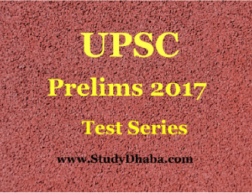 Vision IAS prelims 2017 Test Series 8th test Pdf With Solution