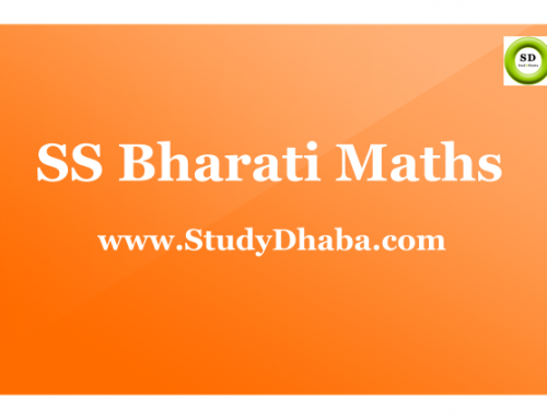 S S Bharati Maths Notes Pdf Download – Hand written Class Notes