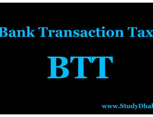 Banking Transaction Tax Pdf : advantages,disadvantages -BTT