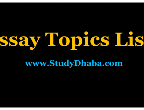 Topic Wise Last 26 Years Essay Papers UPSC Mains Pdf (1993-2018)
