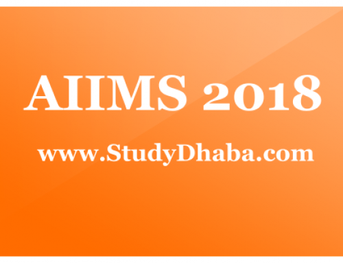 AIIMS MBBS Application Form 2018 Pdf -Eligibility, Dates, How to Apply,Syllabus
