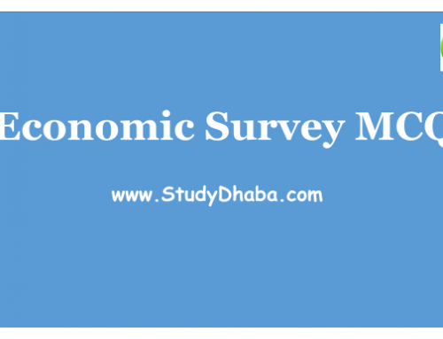 Economic Survey 2017 Based MCQ Pdf Download -mcq of economic survey 2017