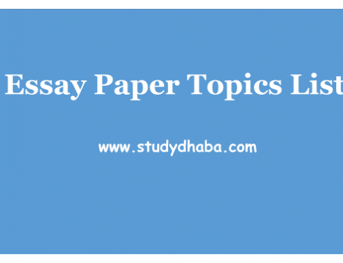 Probable Essay Topics UPSC Mains 2017 Essay Paper Pdf Download