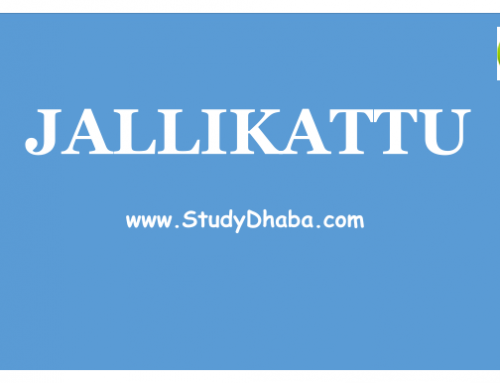 Jallikattu Pdf Short Notes With Full Analysis For UPSC prelims and Mains 2017