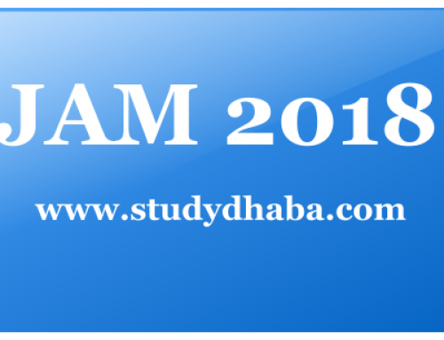 IIT JAM 2018 Application Form pdf : Eligibility, Dates, How to Apply,Syllabus
