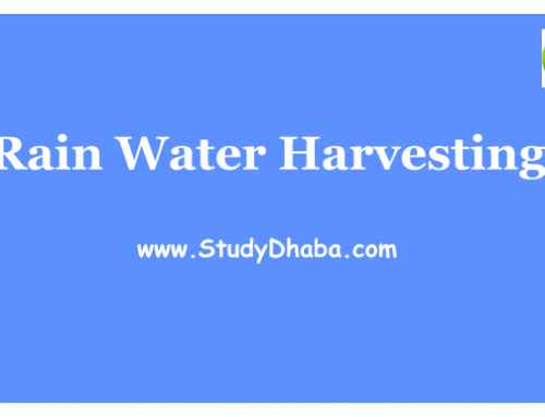 Rain Water Harvesting Pdf – Advantages,Techniques,Examples Of Water Harvesting