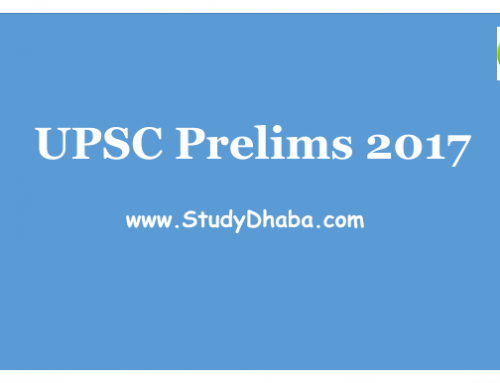 UPSC PRELIMS 2017 IMPORTANT TOPICS pdf -Do not miss these topics