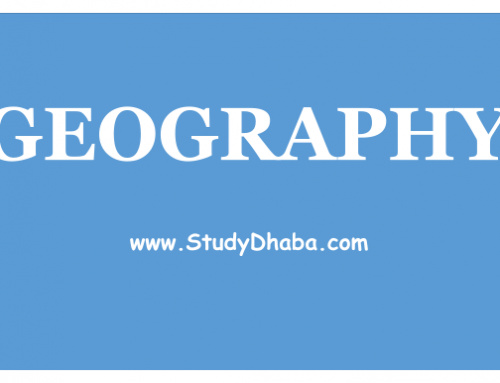 Geography notes Pdf Download For SSC,IAS,Railways,CAPF,CPO,CHSL