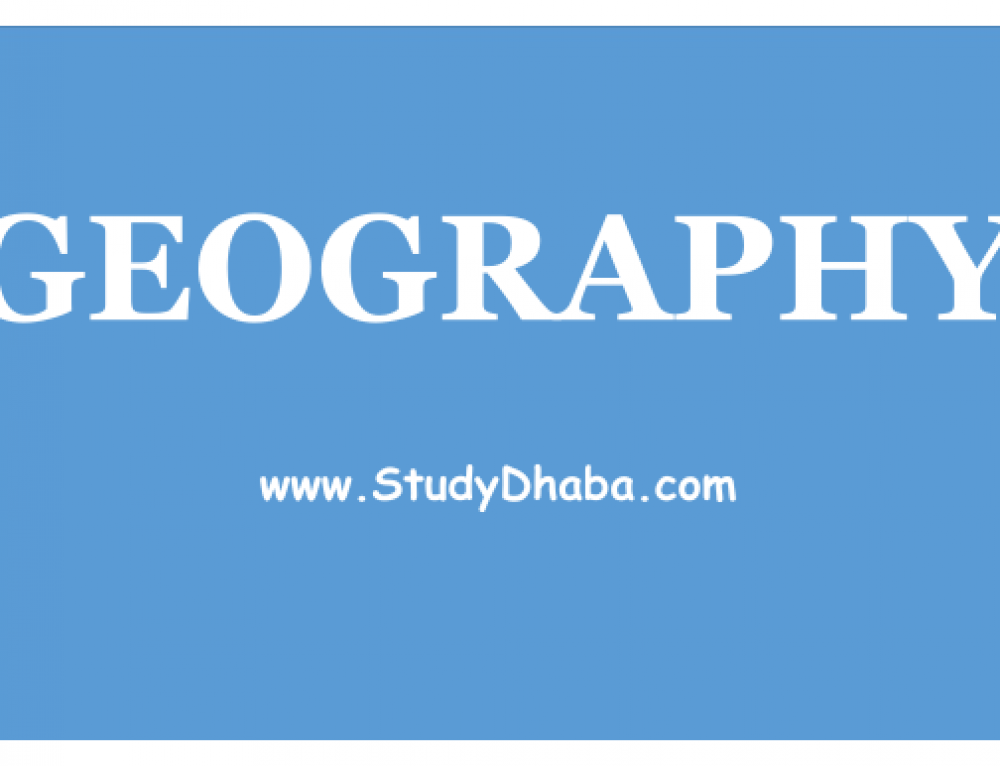 UPSC IAS 2018 Geography Optional Tips – Geography Tips 2018 IAS