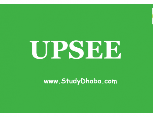 UPSEE 2018 Application Form pdf : Eligibility, Dates, How to Apply