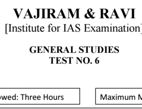 vajiram mains 2017 6th test pdf With Solution – IAS Mains test Series 2017