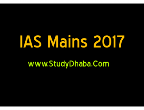 Vision IAS Mains 2017 27th Test pdf With Full Solution -IAS Mains 2017
