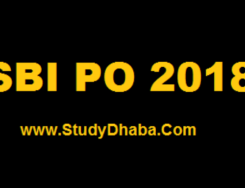 SBI PO 2018 Prelims Score Card Download – SBI PO prelims 2018 Cut Off