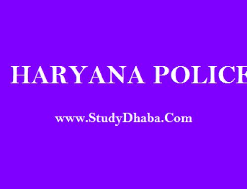 Haryana Police General knowledge Pdf Download – Hindi & English