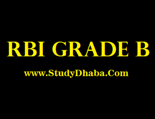 RBI Grade B 2018 -Exam Date,Syllabus,Test Series,Pattern,Apply