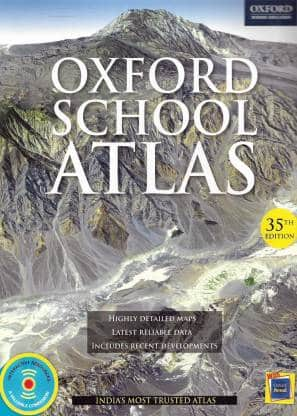 Oxford Student Atlas Bharat Sanskaran PDF Download UPSC