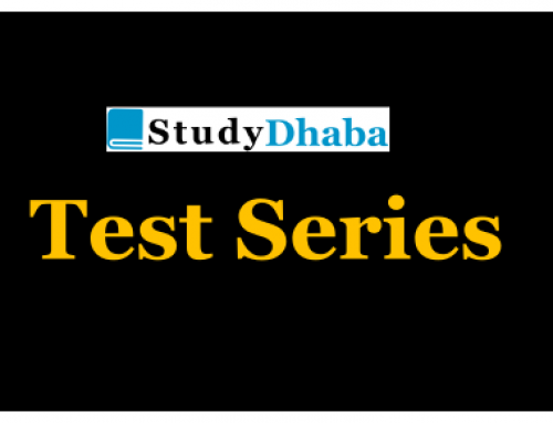 Studydhaba Prelims 2019 Test Series Test 6 With Solution – History