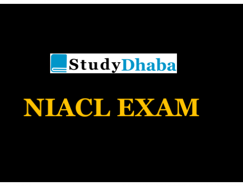 NIACL Mains 2018 General Awareness Questions Asked pdf