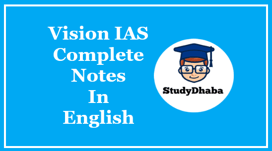 Vision IAS International Relation Handwritten Notes PDF | UPSC Material