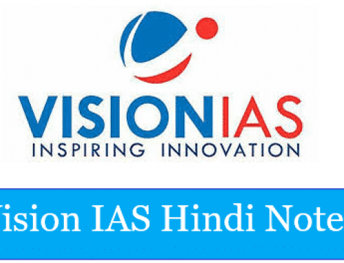 Vision IAS Study Material In Hindi Pdf 2020 [ Complete Notes ]