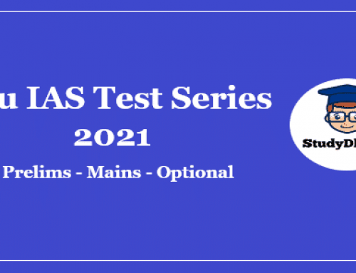 Rau IAS Prelims Test Series 2021 Pdf Download With Solution