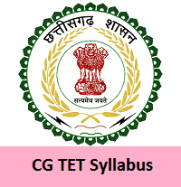CGTET Study Material PDF 2021 Download   Syllabus   Book List   Papers