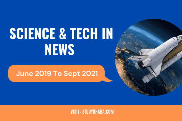 Science And Technology In News UPSC Pdf 2021 | S & T In News UPSC