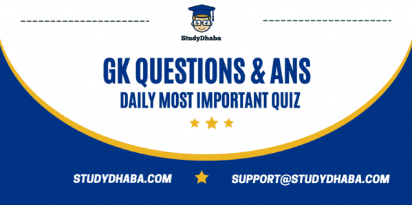GK Questions Set 1 For All Competitive Exams Pdf | Online Test Series