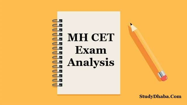 MHT CET Paper Analysis 2021 Pdf Download | All Shifts Question Paper